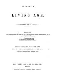 The Living Age : Volume 52, Issue 658, J... by The Living Age Company