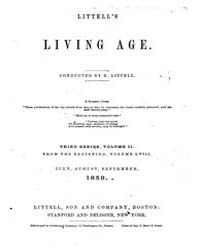 The Living Age : Volume 58, Issue 736, J... by The Living Age Company