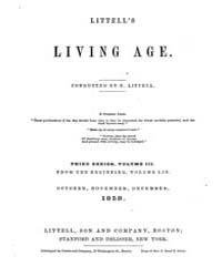 The Living Age : Volume 59, Issue 749, O... by The Living Age Company