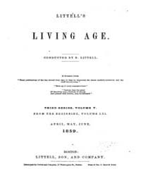 The Living Age : Volume 61, Issue 775, A... by The Living Age Company