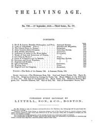 The Living Age : Volume 62, Issue 799, S... by The Living Age Company