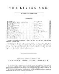 The Living Age : Volume 63, Issue 804, O... by The Living Age Company