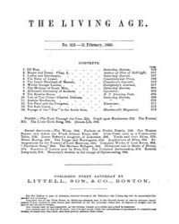 The Living Age : Volume 64, Issue 819, F... by The Living Age Company