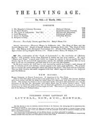 The Living Age : Volume 64, Issue 822, M... by The Living Age Company