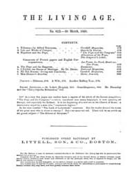 The Living Age : Volume 64, Issue 823, M... by The Living Age Company