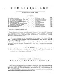 The Living Age : Volume 64, Issue 824, M... by The Living Age Company