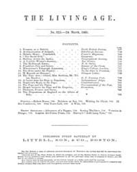 The Living Age : Volume 64, Issue 825, M... by The Living Age Company