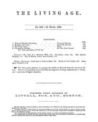 The Living Age : Volume 64, Issue 826, M... by The Living Age Company