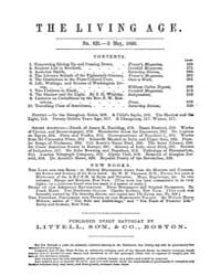 The Living Age : Volume 65, Issue 831, M... by The Living Age Company