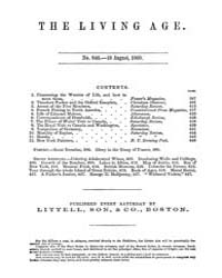 The Living Age : Volume 66, Issue 846, A... by The Living Age Company
