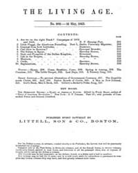 The Living Age : Volume 77, Issue 989, M... by The Living Age Company