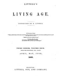 The Living Age : Volume 85, Issue 1088, ... by The Living Age Company