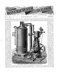 The Manufacturer and Builder : Volume 00... by Western and Company