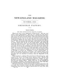 The New-england Magazine : Volume 0003, ... by J. T. and E. Buckingham