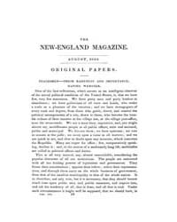 The New-england Magazine : Volume 0007, ... by J. T. and E. Buckingham