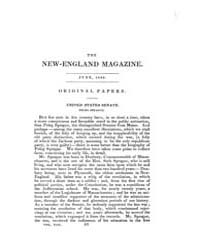The New-england Magazine : Volume 0008, ... by J. T. and E. Buckingham