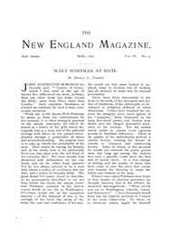 The New England Magazine : Volume 0010, ... by New England Magazine Co