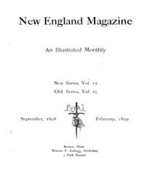 The New England Magazine : Volume 0025, ... by New England Magazine Co
