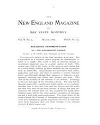 The New England Magazine : Volume 0005, ... by New England Magazine Co