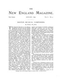 The New England Magazine : Volume 0007, ... by New England Magazine Co