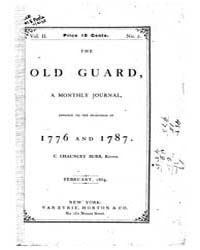 The Old Guard : Volume 0002, Issue 2 Feb... by C. Chauncey Burr and Co