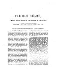 The Old Guard : Volume 0003, Issue 12 De... by C. Chauncey Burr and Co