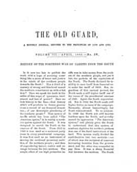 The Old Guard : Volume 0003, Issue 4 Apr... by C. Chauncey Burr and Co