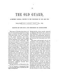 The Old Guard : Volume 0003, Issue 7 Jul... by C. Chauncey Burr and Co