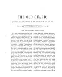 The Old Guard : Volume 0004, Issue 10 Oc... by C. Chauncey Burr and Co