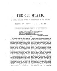 The Old Guard : Volume 0004, Issue 11 No... by C. Chauncey Burr and Co