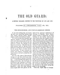 The Old Guard : Volume 0004, Issue 12 De... by C. Chauncey Burr and Co