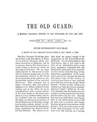 The Old Guard : Volume 0004, Issue 5 May... by C. Chauncey Burr and Co