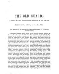 The Old Guard : Volume 0004, Issue 7 Jul... by C. Chauncey Burr and Co