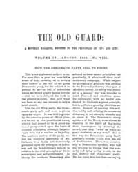 The Old Guard : Volume 0004, Issue 8 Aug... by C. Chauncey Burr and Co