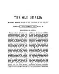 The Old Guard : Volume 0005, Issue 10 Oc... by C. Chauncey Burr and Co