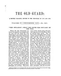 The Old Guard : Volume 0005, Issue 12 De... by C. Chauncey Burr and Co