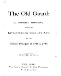 The Old Guard : Volume 0005, Issue 1 Jan... by C. Chauncey Burr and Co