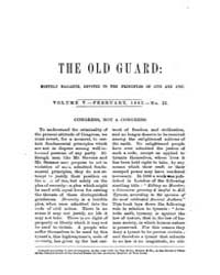 The Old Guard : Volume 0005, Issue 2 Feb... by C. Chauncey Burr and Co
