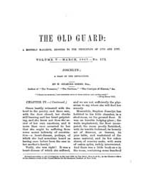 The Old Guard : Volume 0005, Issue 3 Mar... by C. Chauncey Burr and Co