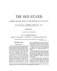 The Old Guard : Volume 0005, Issue 4 Apr... by C. Chauncey Burr and Co