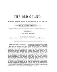 The Old Guard : Volume 0005, Issue 6 Jun... by C. Chauncey Burr and Co