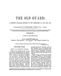 The Old Guard : Volume 0005, Issue 8 Aug... by C. Chauncey Burr and Co