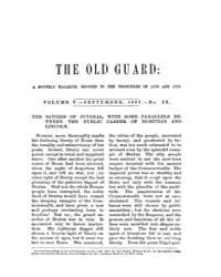 The Old Guard : Volume 0005, Issue 9 Sep... by C. Chauncey Burr and Co