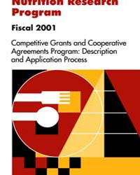 Nutrition Research Program Fiscal 2001 C... by United States Department of Agriculture