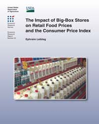 The Impact of Big-box Stores on Retail F... Volume Number 33 by Leibtag, Ephraim