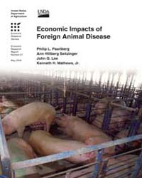 Economic Impacts of Foreign Animal Disea... Volume Number 57 by Paarlberg, Philip L.
