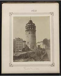 Vue De La Tour De Galata, Photograph Num... by Frères, Abdullah