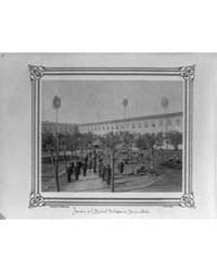 View of the Garden of the Military Hospi... by Frères, Abdullah