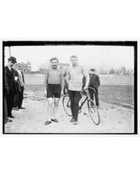 Georget and Dupre of France, with Bicycl... by Library of Congress