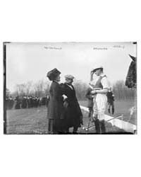 Mrs. Geo. Gould & Buckmaster on Polo Fie... by Library of Congress
